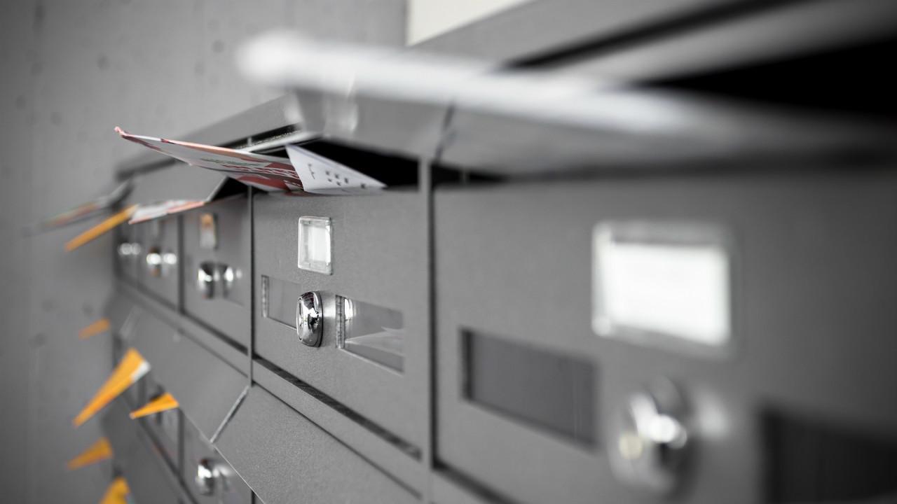 郵便物なし
